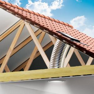 Tunel solar cu tub flexibil - TWF